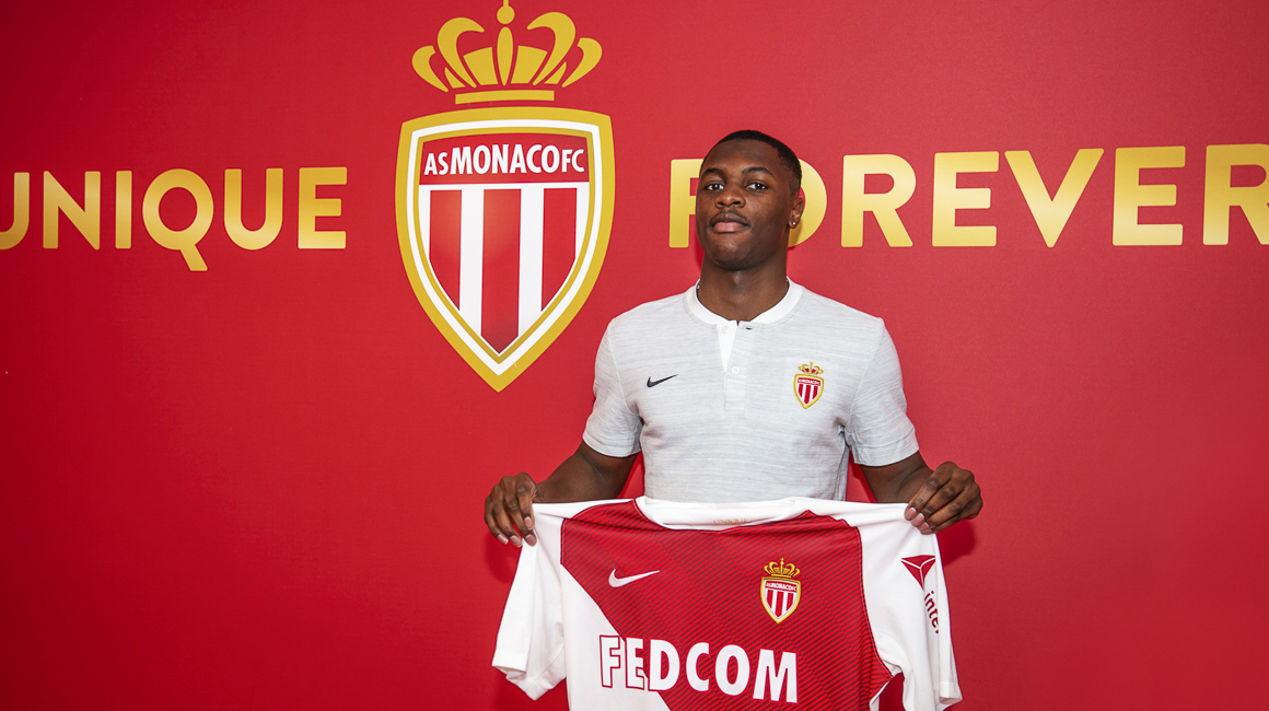 Fodé Ballo-Touré à l'AS Monaco