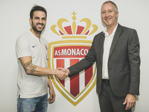 Cesc Fabregas no AS Monaco