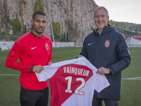 William Vainqueur no AS Monaco