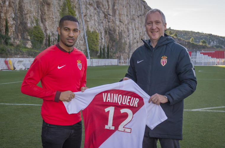 William Vainqueur al AS Monaco