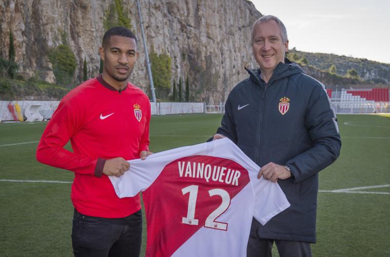 William Vainqueur no AS Monaco