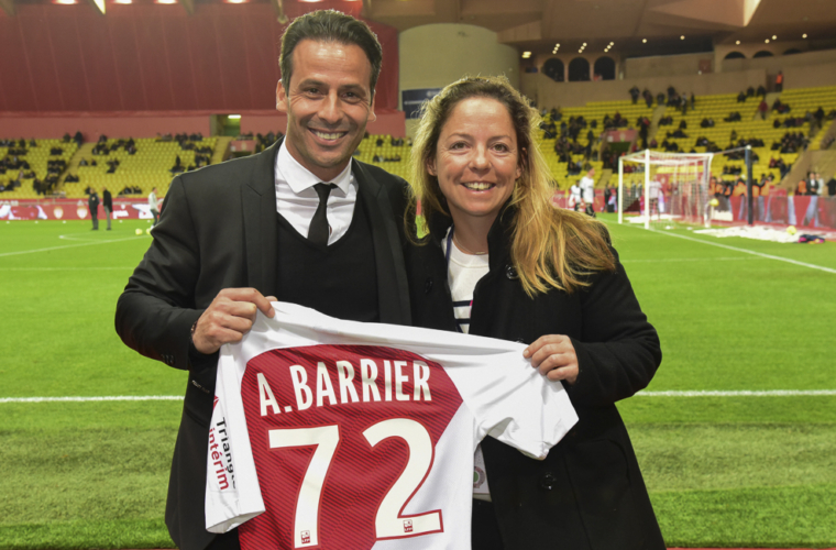 L'AS Monaco soutient Alexia Barrier et 4MYPLANET