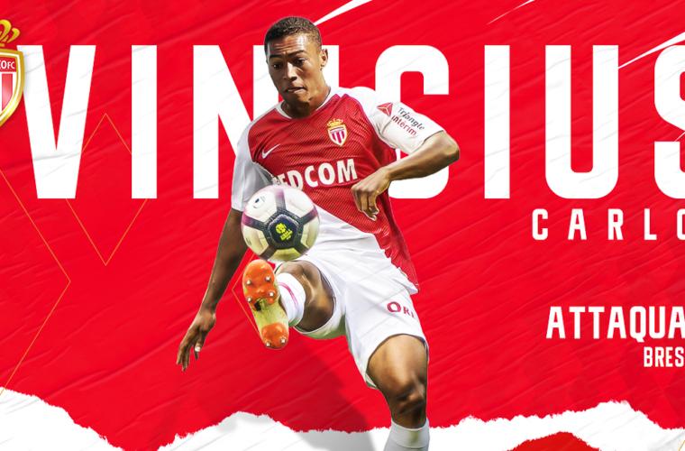 Carlos Vinícius no AS Monaco