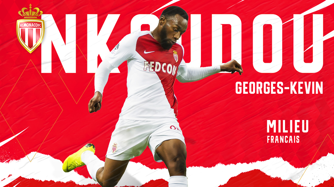 Georges-Kévin N'Koudou no AS Monaco