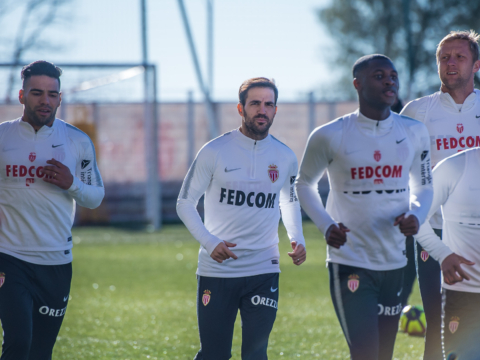 Premier entraînement pour Cesc Fàbregas