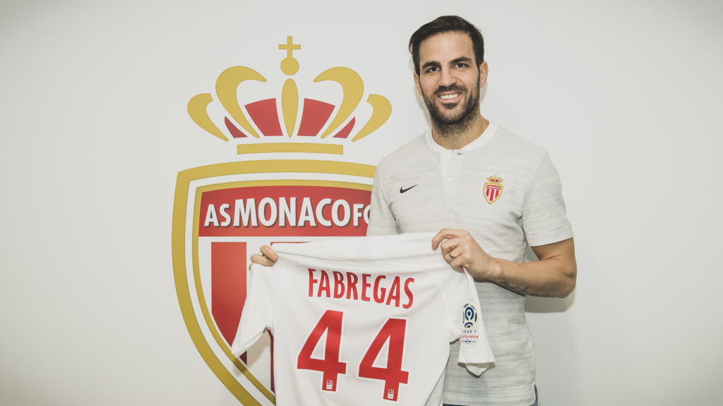 Image result for Cesc Fabregas monaco