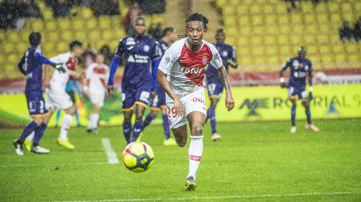 Gelson Martins no AS Monaco