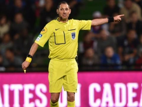 Mikael Lesage au sifflet de Marseille - AS Monaco