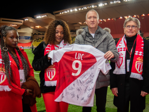L'AS Monaco soutient Luc Duchesne de l'US Cap d'Ail