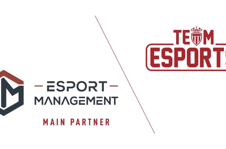 Esport-Management, nouveau partenaire principal de l'AS Monaco eSports