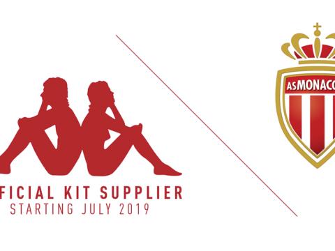 L'AS Monaco et Kappa annoncent leur prochaine collaboration