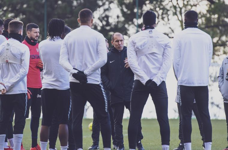 Groupe : Avec les nouveaux contre Toulouse