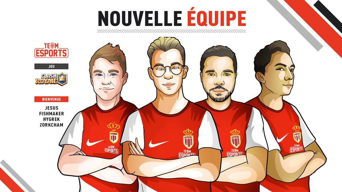 L' AS Monaco entre dans l'arène de Clash Royale