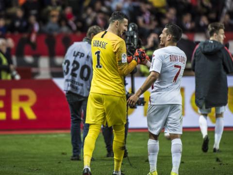 Subašić et Rony Lopes dans l'Equipe-Type de la J26