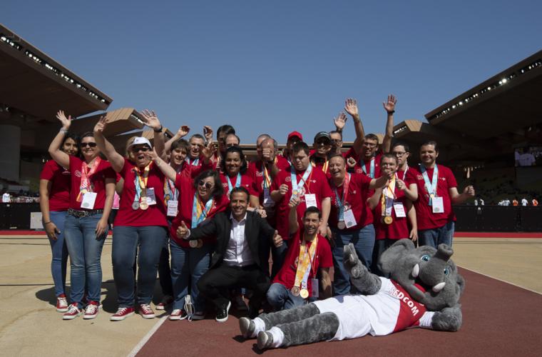Les athlètes Special Olympics Monaco à l'honneur