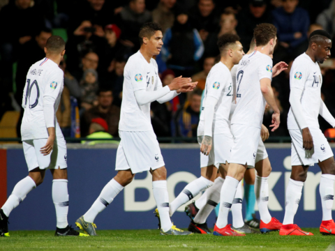 L'Equipe de France domine la Moldavie (1-4)