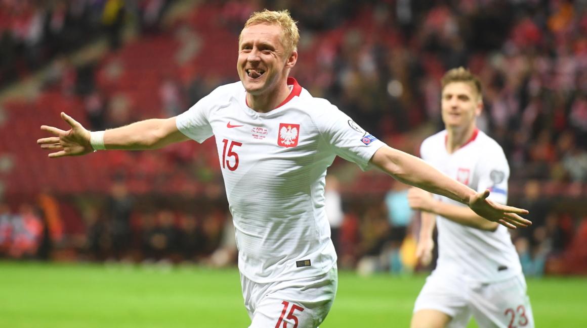 Kamil Glik buteur avec la Pologne (2-0)