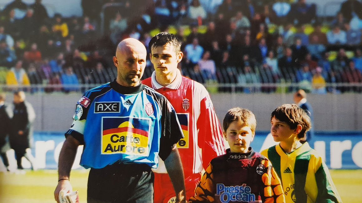 They wore the jersey of both AS Monaco and OM