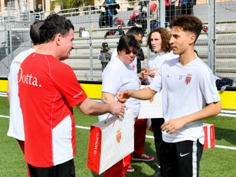"""AS Monacoeur : """"Daghe"""" Special Olympics"""