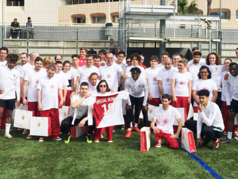 AS Monacoeur : Daghe Special Olympics