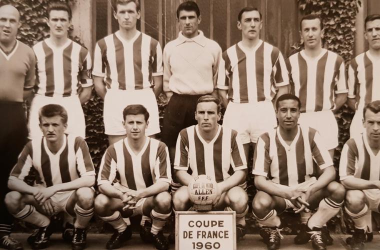 Il y a 60 ans débutait l'épopée de la Coupe de France 1960 !