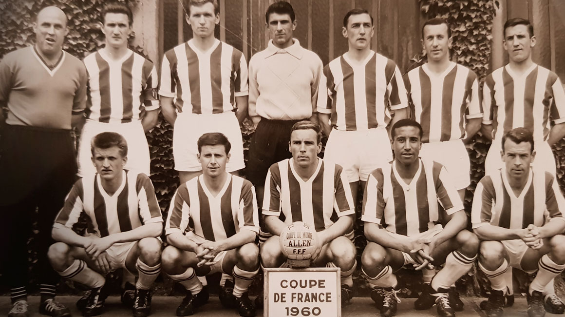 60 years ago the epic run in the 1960 Coupe de France began!