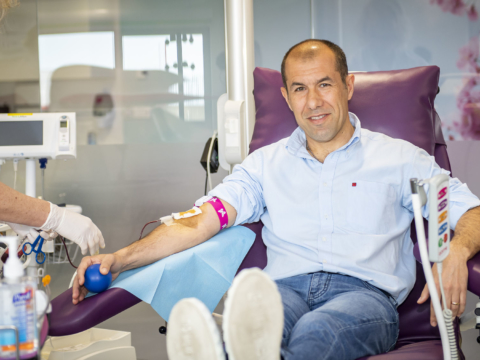 AS Monaco supports blood donation