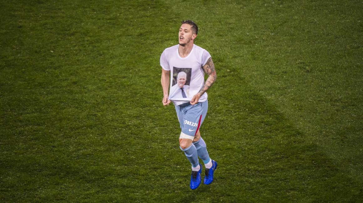 Stevan Jovetić : » Tout donner pour gagner les prochains matchs «