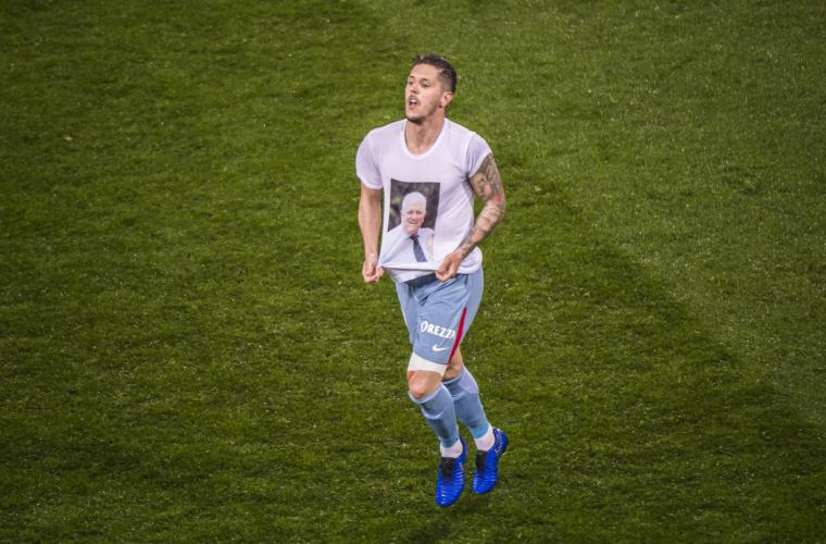 """Stevan Jovetić : """" Tout donner pour gagner les prochains matchs """""""