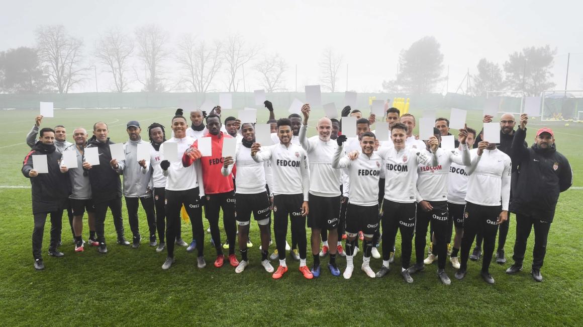 L'AS Monaco aux côtés de #WhiteCard