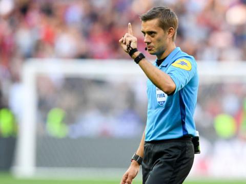 Clément Turpin au sifflet contre Nantes
