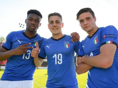 EURO U17 : L'Italie en finale