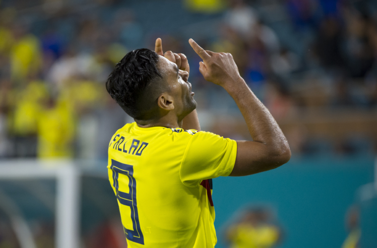 Falcao's Colombia on to Quarterfinals