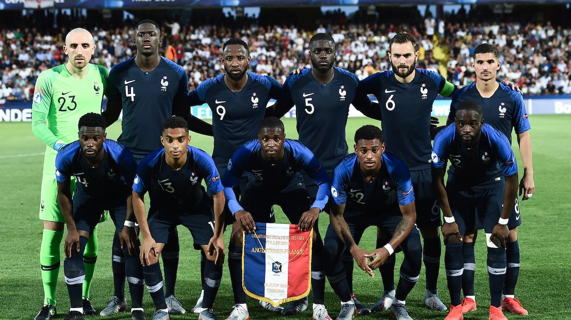 Сборная Франции U21 вместе с Балло-Туре победила Англию