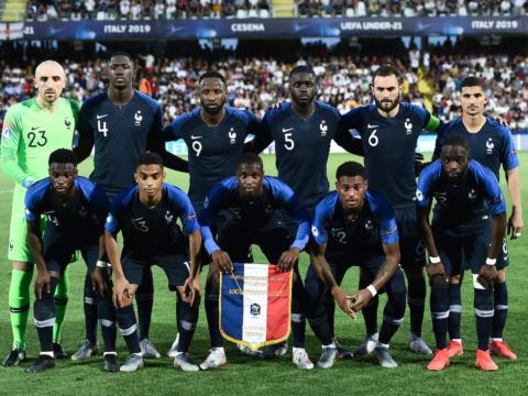 A França sub-21 de Ballo-Touré vira sobre a Inglaterra