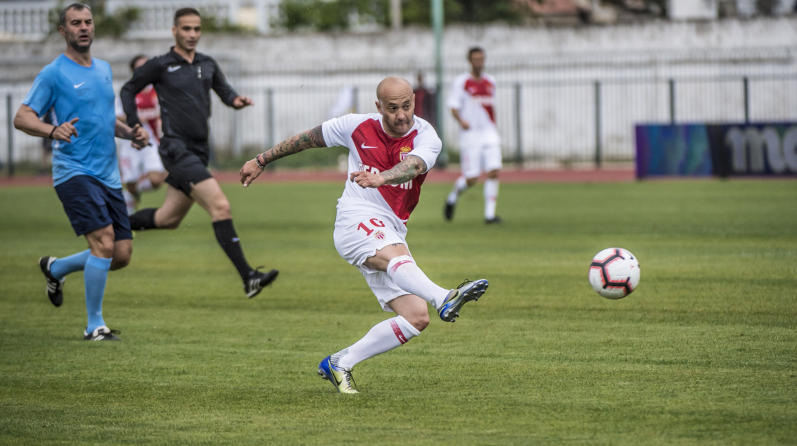 1er succès pour «L'AS Monaco Legends»
