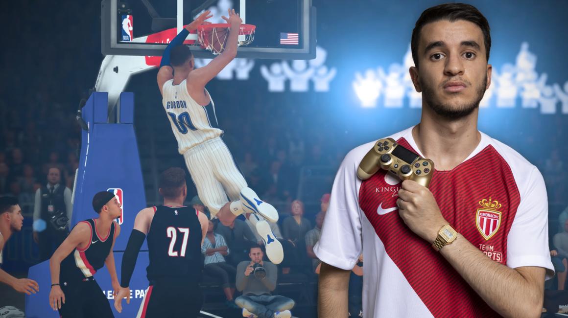 Slimane Saada au sommet de l'Europe sur NBA 2K