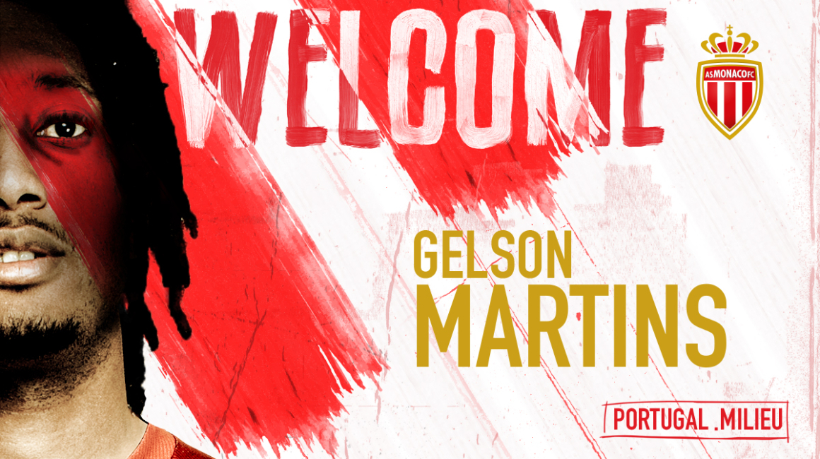 Gelson Martins se une al AS Monaco