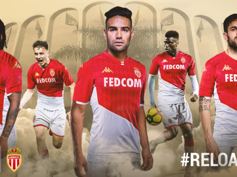 AS Monaco and Kappa Unveil New Home Jersey