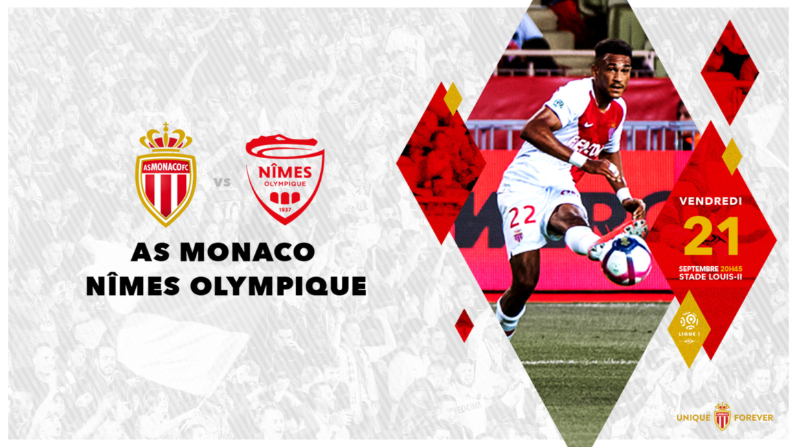 Vente Flash AS Monaco - Nîmes Olympique !