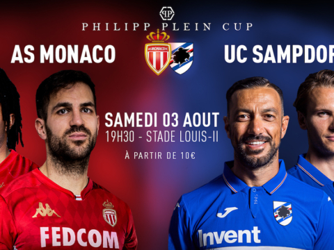Monaco to face Sampdoria in 1st round of the Philipp Plein Cup