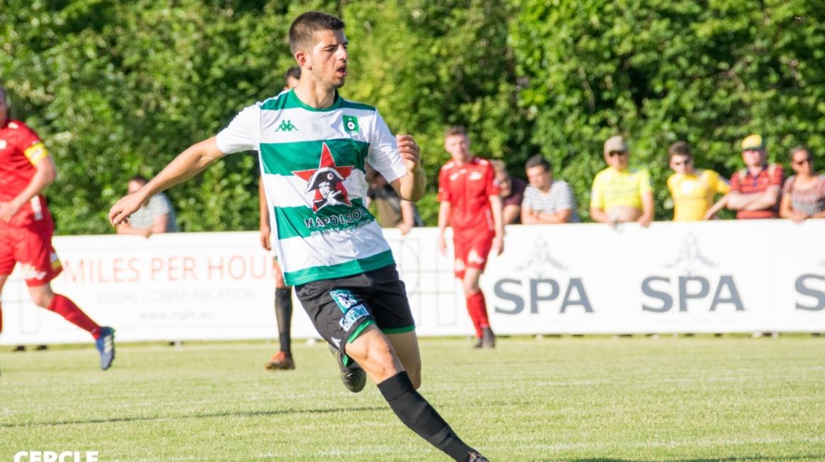 Adrien Bongiovanni prêté au Cercle Bruges