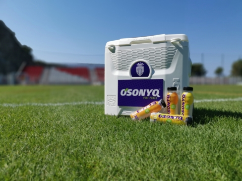 Osonyq Becomes the Official Sports Drink of AS Monaco