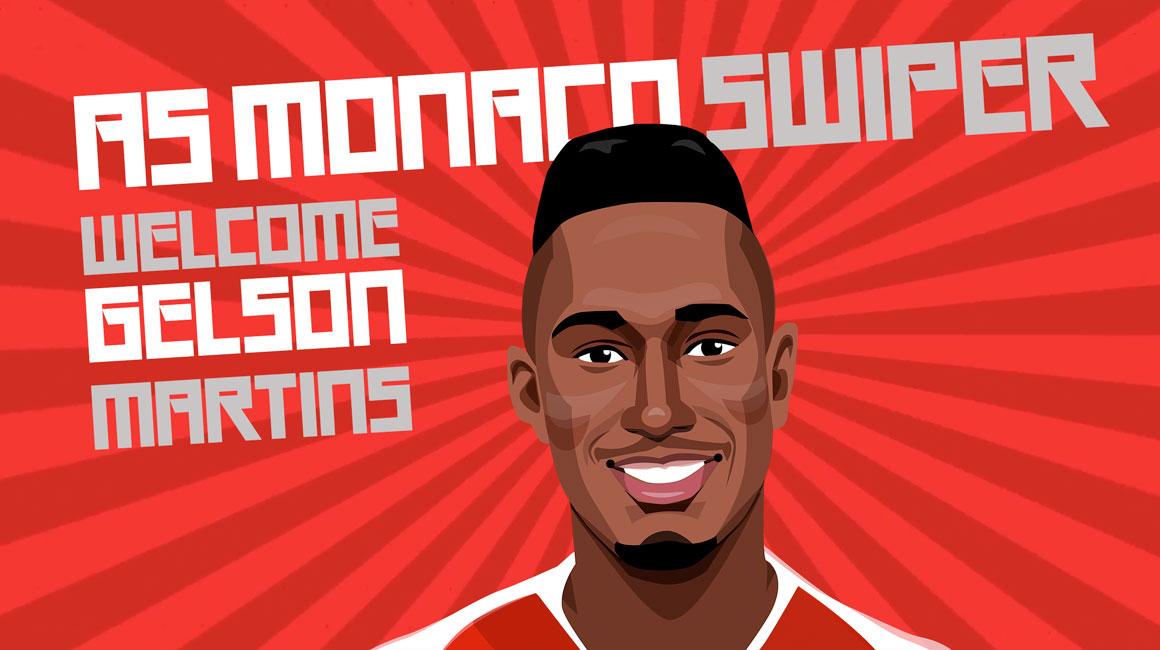 AS Monaco Swiper
