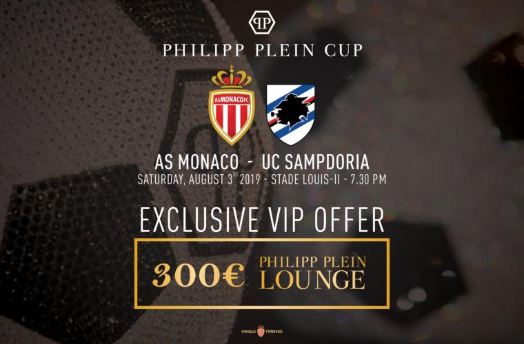 VIP Offer: Philipp Plein Cup AS Monaco - Sampdoria