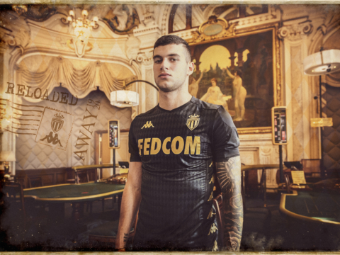 AS Monaco and Kappa unveil new away jersey