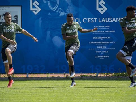 Le XI de départ face à Lausanne Sport