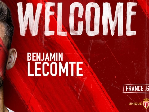 Benjamin Lecomte no AS Monaco