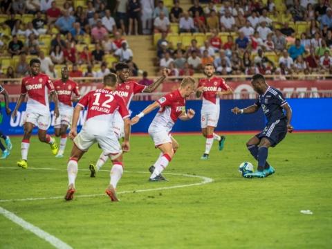 AS Mónaco perdió ante Lyon