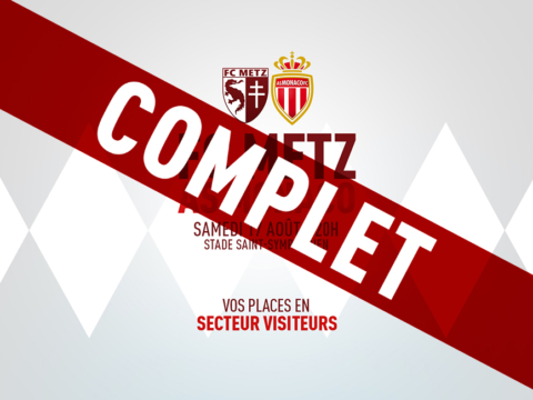 FC Metz - AS Monaco : les supporters rouge et blanc toujours présents